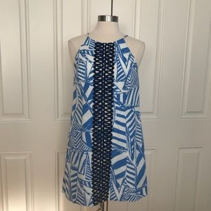 Lilly Pulitzer Annabelle Bay Blue Yacht Dress
